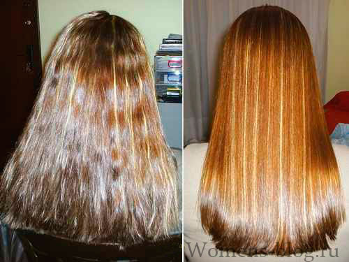 Как волосы сделать живыми и блестящими