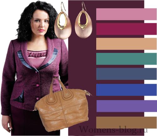 Цвет одежды для полных женщин