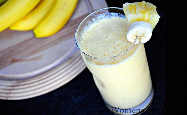 Молочная диета с бананом