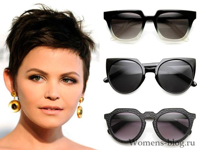 очки для круглого лица женские