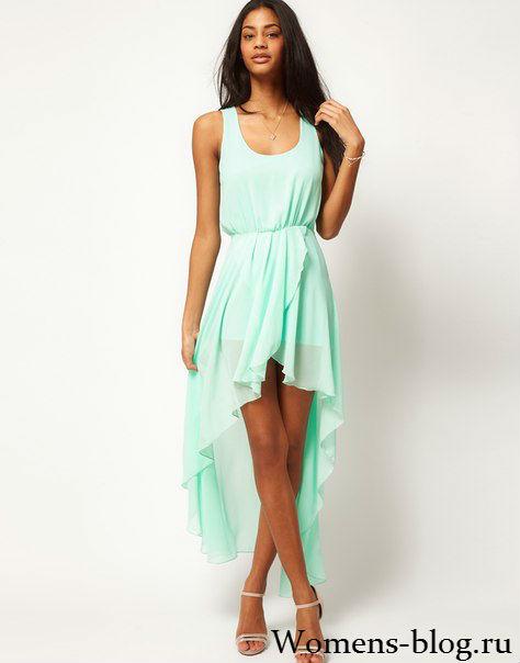 Платья для высоких и худых девушек фото
